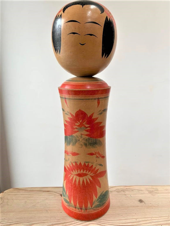 Traditional Wooden Japanese Kokeshi Doll (1 of 15) - Retro & Vintage Furniture and Homewares