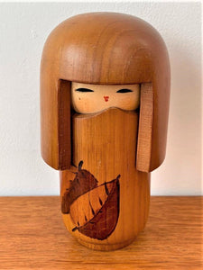 Traditional Wooden Japanese Kokeshi Doll (14 of 15) - Retro & Vintage Furniture and Homewares