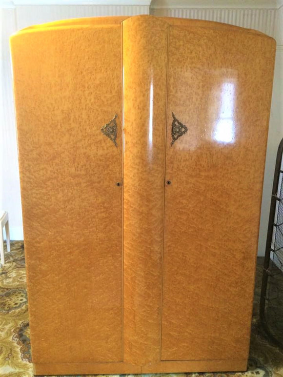 Art Deco Wardrobe By The Majority Furniture Company - Retro & Vintage Interiors