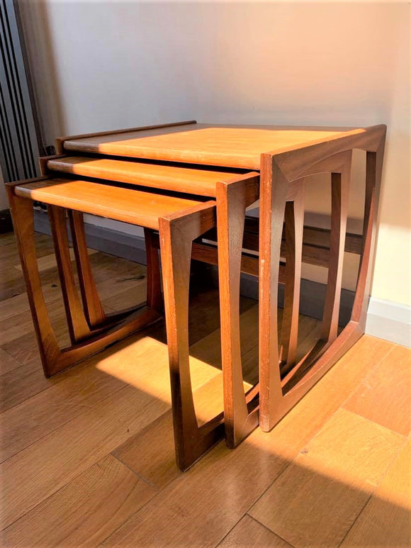 G-Plan Quadrille Nest of Tables - Retro & Vintage Interiors