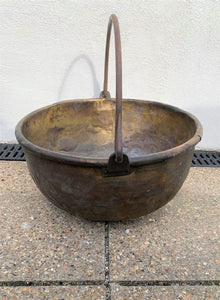 Copper Cauldron Pot - Retro & Vintage GB