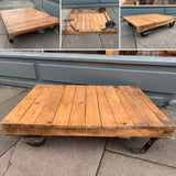 Vintage Industrial Trolley Coffee Table - Retro & Vintage Furniture and Homewares