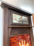 Edwardian Fire Surround Mantel with Tiled Insert - Retro & Vintage Furniture and Homewares