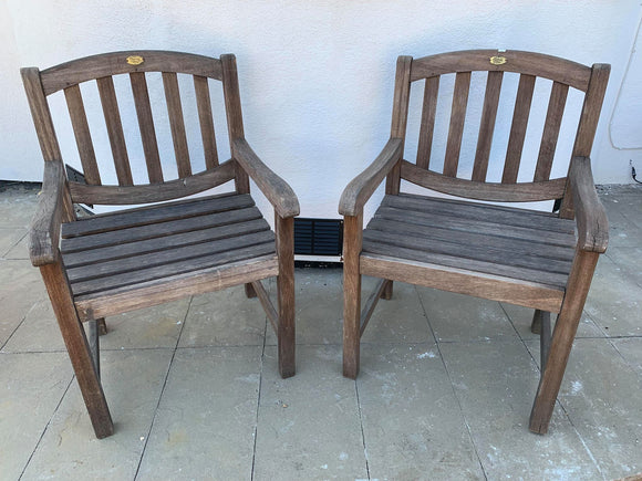 Pair of Garden Armchairs - Retro & Vintage Furniture and Homewares