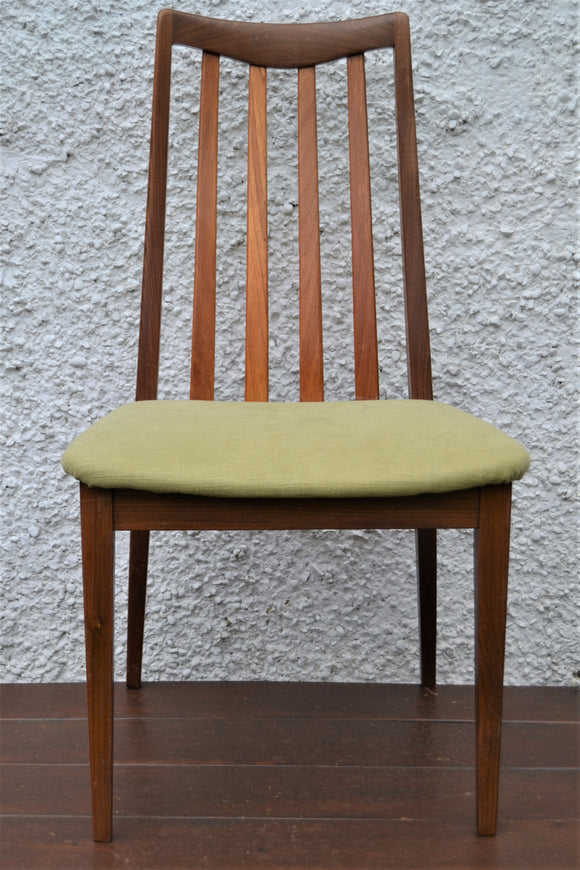 Vintage Teak G-Plan Fresco Dining Chairs Model No. 4540 - Retro & Vintage Furniture and Homewares