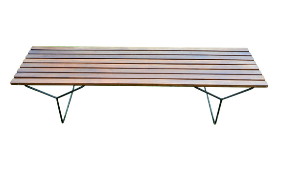 A Bench Designed By Harry Bertoia For Knoll International - Retro & Vintage Furniture and Homewares
