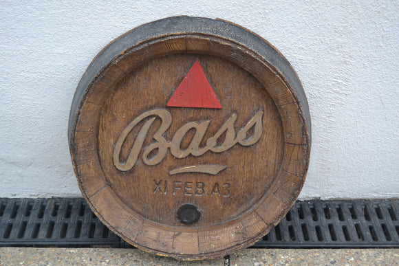 Bass Ale Bitter Beer Sign - Retro & Vintage Interiors