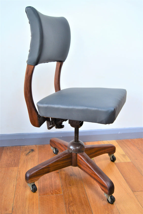 Office Swivel Desk Chair - Retro & Vintage Furniture and Homewares
