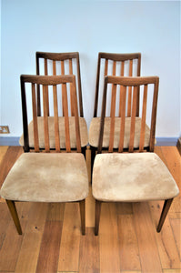 Vintage Teak G-Plan Fresco Dining Chairs Model No. 4540 - Retro & Vintage Interiors