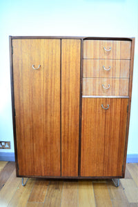 G Plan Gentleman's Fitted Tallboy - Model No. B826 - Retro & Vintage Interiors