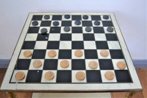 Vintage Jaques Fine Quality Draughts Set - Retro & Vintage Furniture and Homewares