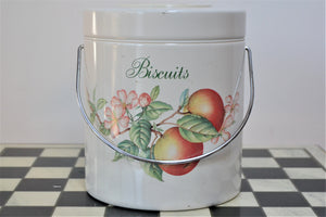 Retro Biscuit Barrel with Handle - Retro & Vintage Furniture and Homewares