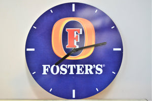 Foster's Pub Advertising Clock - Retro & Vintage Furniture and Homewares