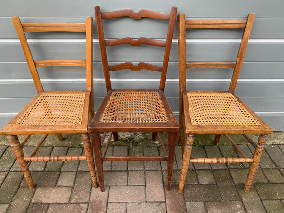 Wicker Occasional / Dining Chairs - Retro & Vintage Furniture and Homewares