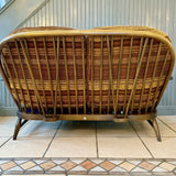 Ercol Windsor Two Seater Settee / Sofa - Retro & Vintage Interiors