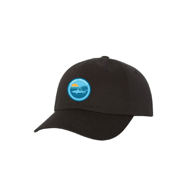 Shark Circle Patch Hat