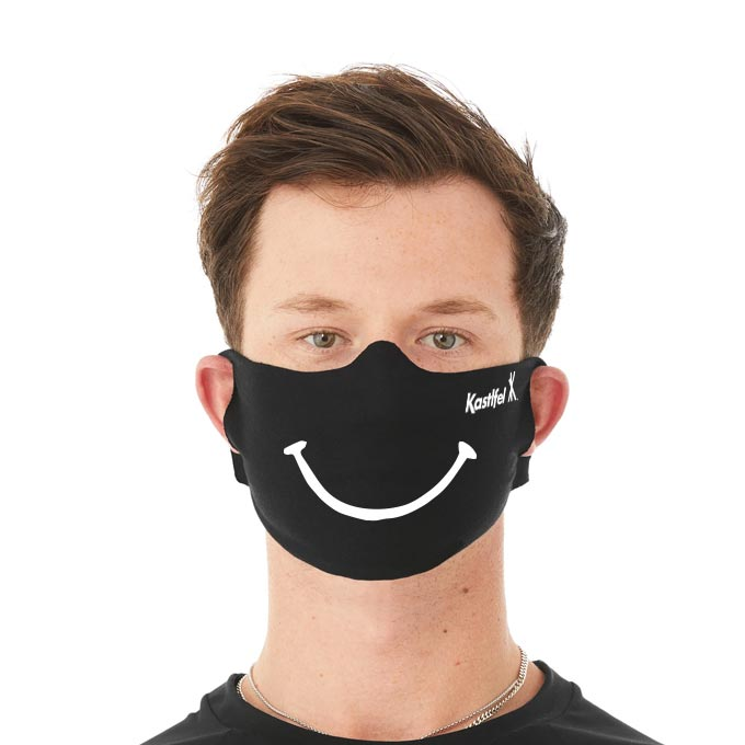 'I Miss Your Face' Mask™ - Smiley
