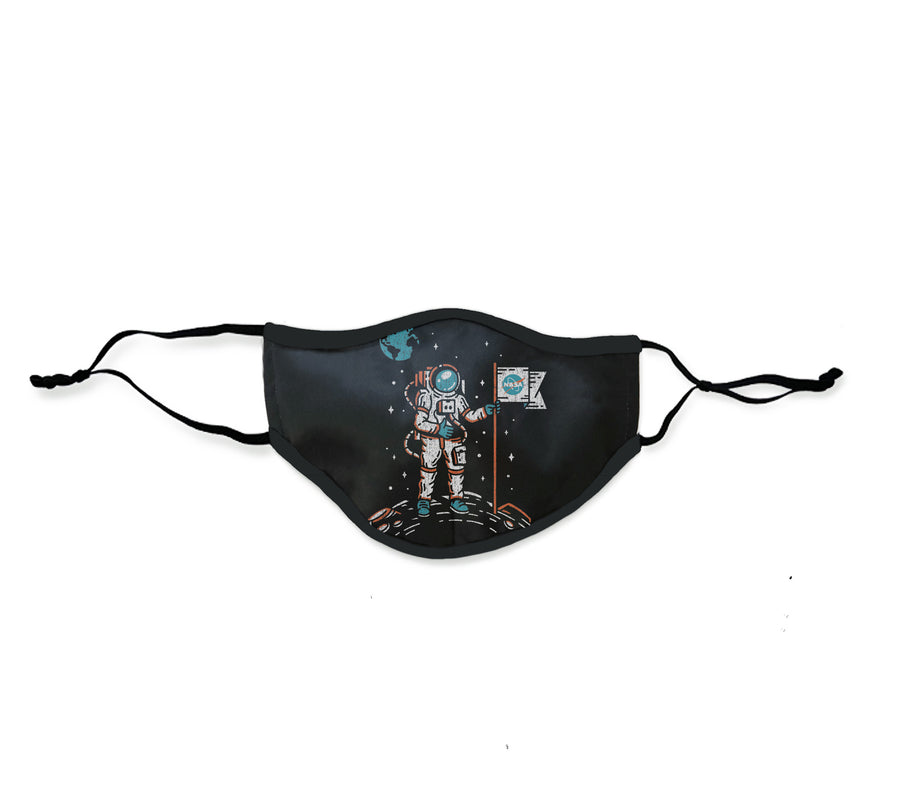 Sublimated Mask Moon Landing