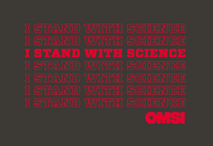 I Stand with Science Youth Tee