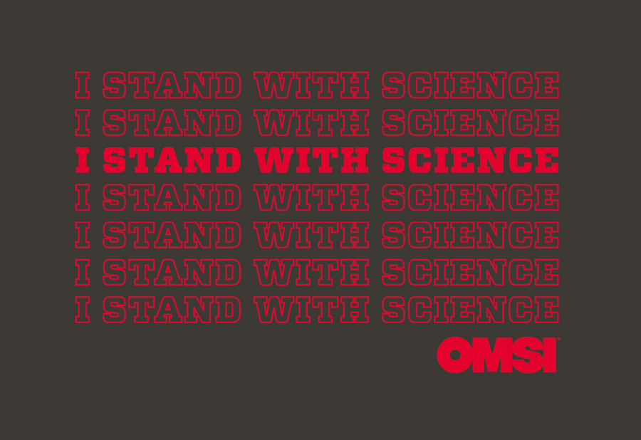 I Stand with Science Adult Tee