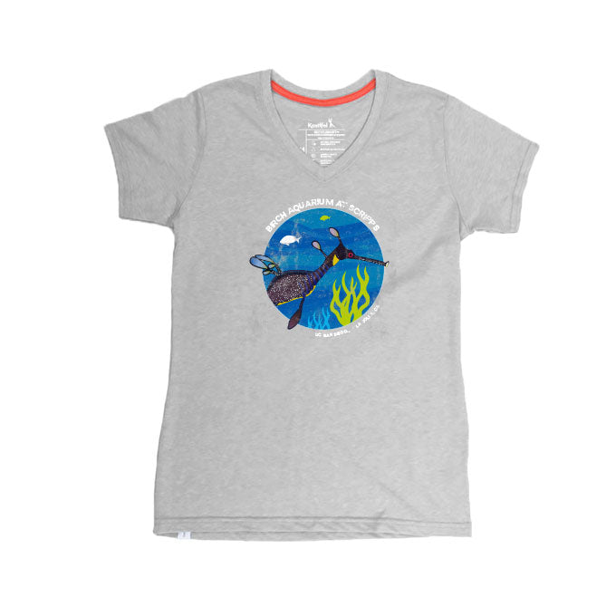 Weedy Seadragon - Ladies V-Neck