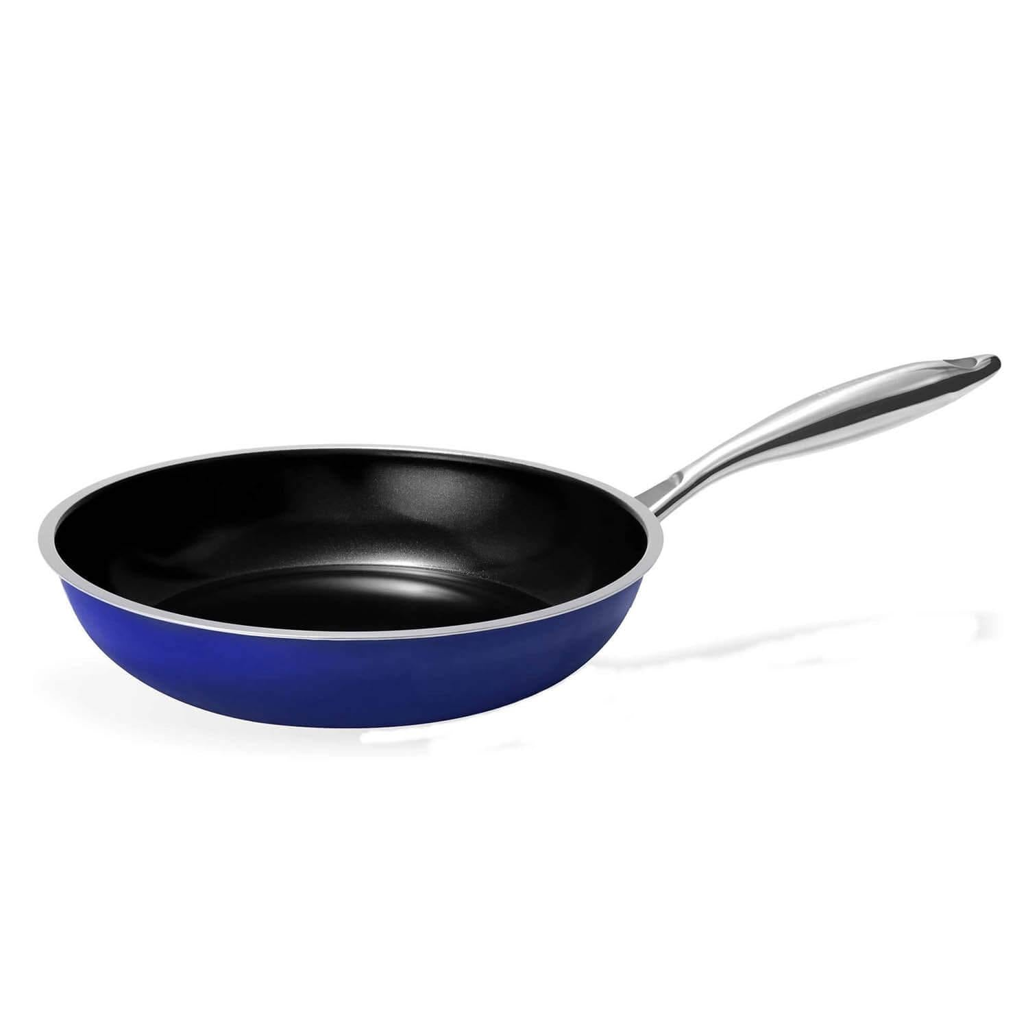 9.5 inch Enameled Non Stick Skillet Frying Pan