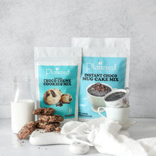 Load image into Gallery viewer, Choco Chunk Cookie Mix + Instant Choco Mug Cake Mix | EGGLESS | Vegan Friendly