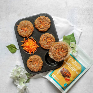 Whole Wheat Carrot Cake Mix