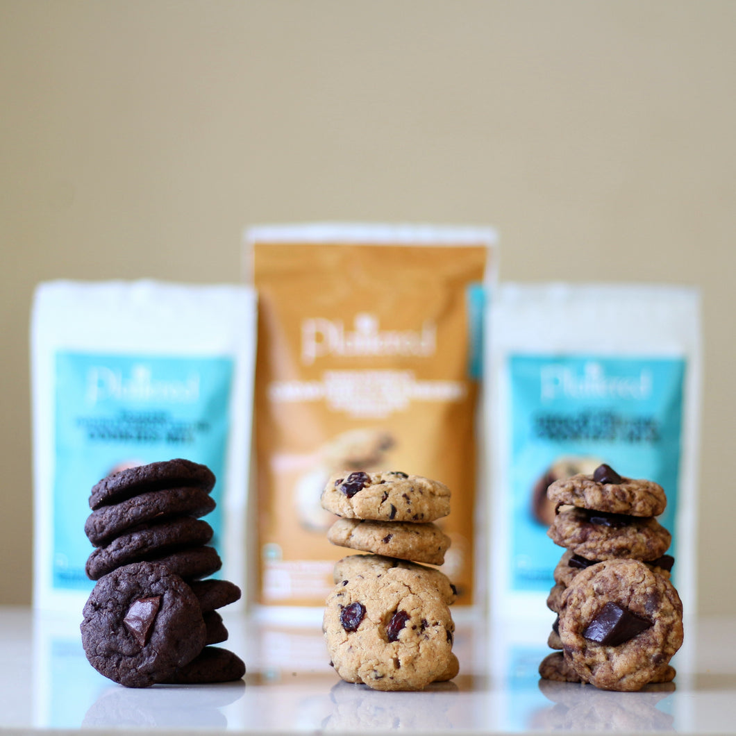 Cookie Mix Trio | EGGLESS | Vegan Friendly