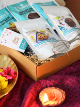 Load image into Gallery viewer, Vegan Trio + Cookie Bites Diwali Box