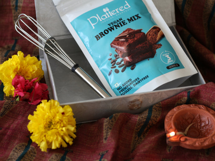 Vegan Brownie Mix Diwali Gift Box