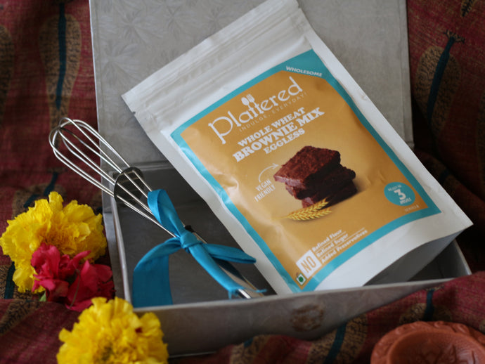 Whole Wheat Brownie Mix Diwali Gift Box