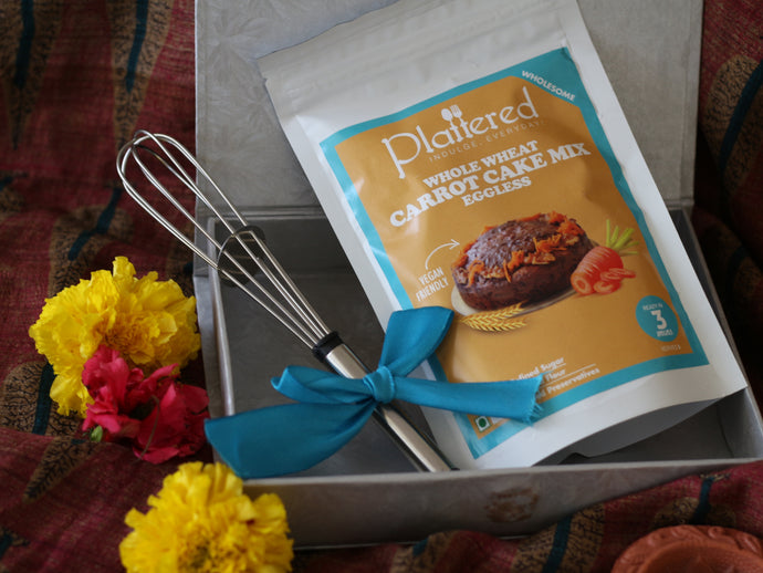 Whole Wheat Carrot Cake Mix Diwali Gift Box