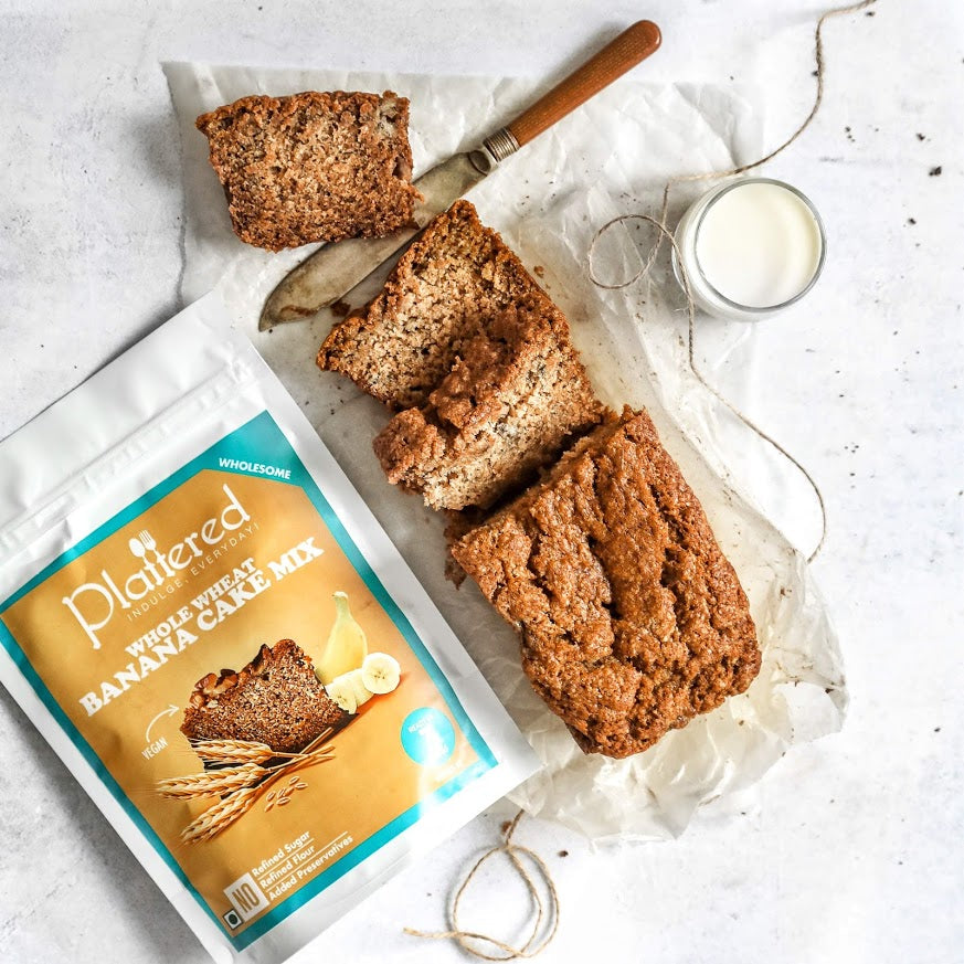 Whole Wheat Banana Cake Mix