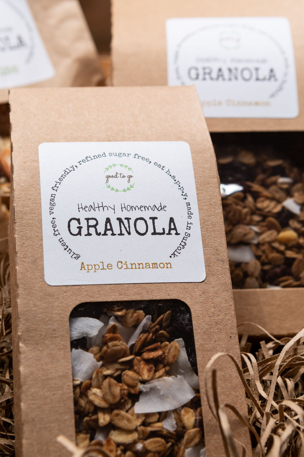 Healthy Homemade Granola - Apple Cinnamon