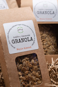 Healthy Homemade Granola - Maple Almond