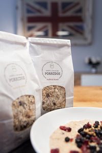 Healthy Porridge Blends - Cherry Bakewell