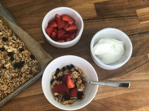 Healthy Homemade Granola - Buckwheat & Blueberry