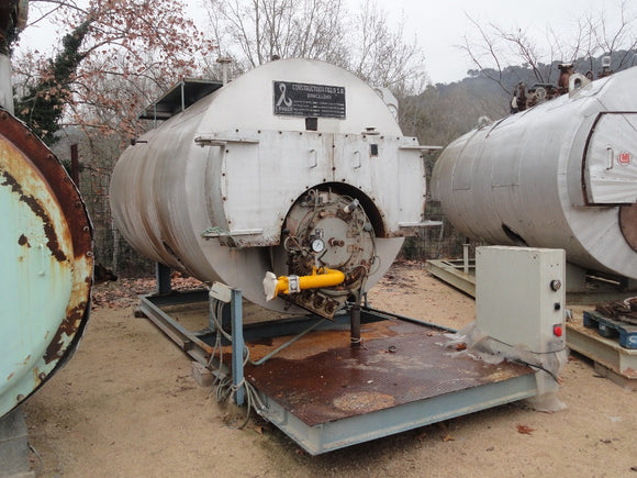 Steam Boiler 3,500kg/h 10bar