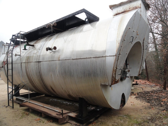 Steam Boiler 7,500kg/h 8 bar