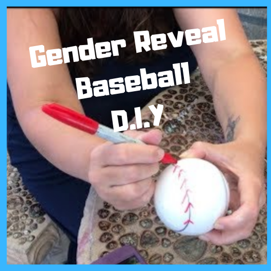 How to make a Gender Reveal Baseball - Step by Step