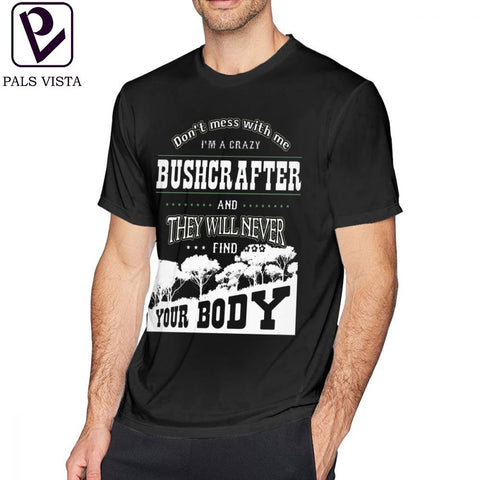 Funny Bushcraft T Shirt