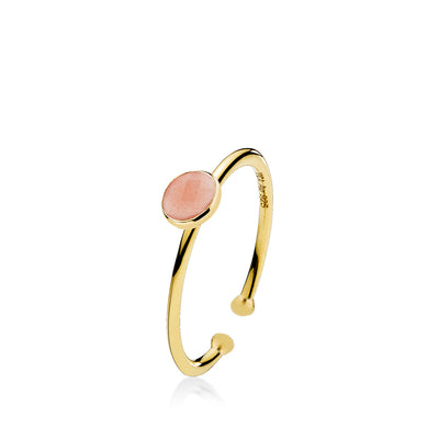 Prima Donna - Ring Guld Peach Small