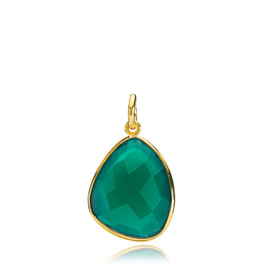 Orient Green Onyx - Vedhæng Guld