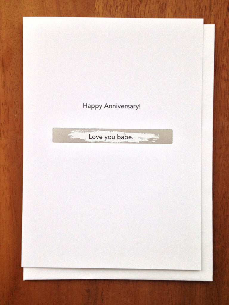 Anniversary: Partner to partner