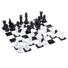 Load image into Gallery viewer, Jumbo/Giant Chess with Mat