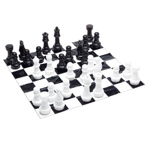 Jumbo/Giant Chess with Mat
