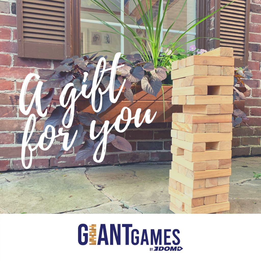 Giant Games Gift Card. Our gift cards make the perfect gift. They never expire and there are no processing fees. They can be redeemed in our online store at any time.