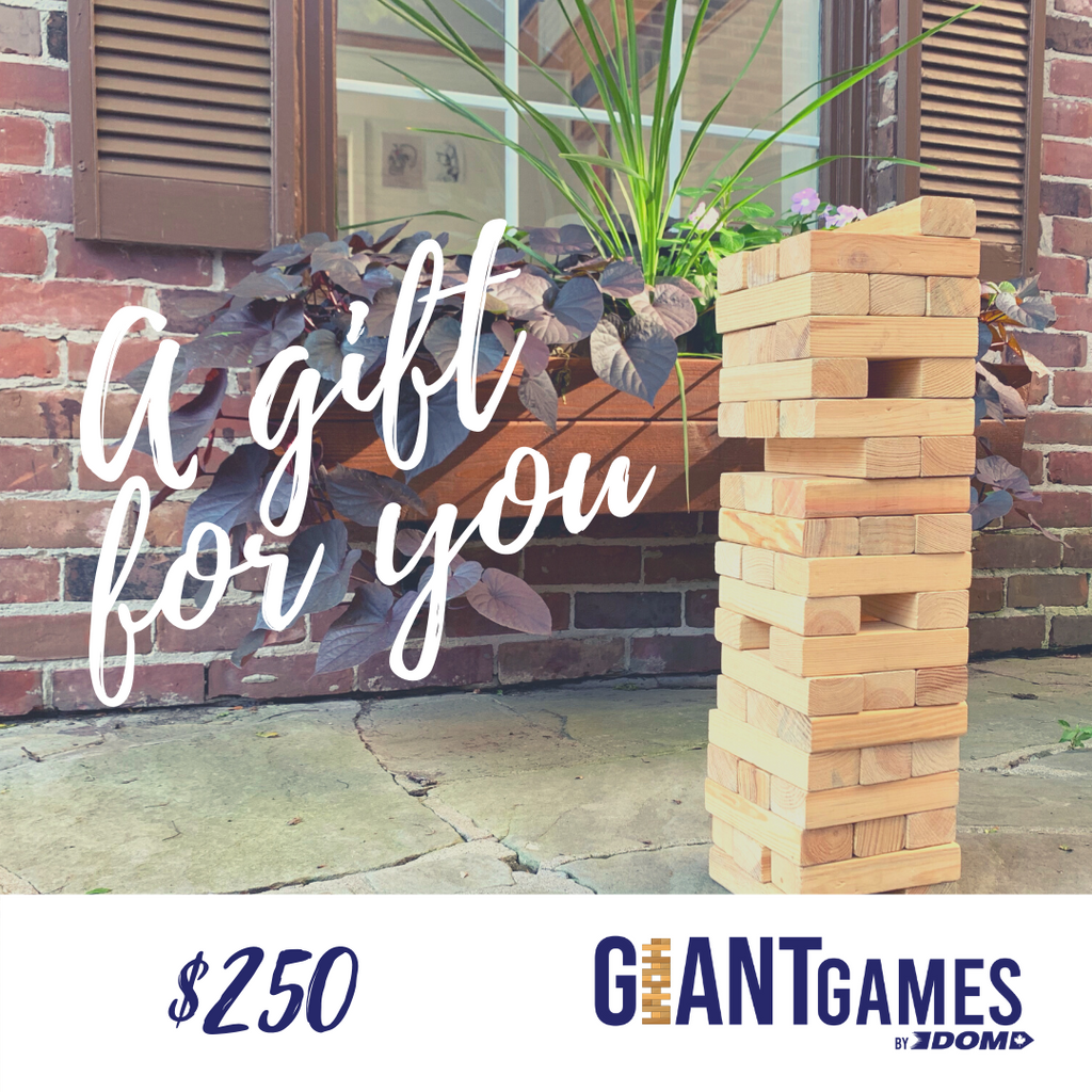 Giant Games Gift Card
