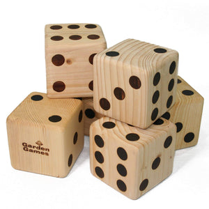 Wooden Dice (It's Dicey!)